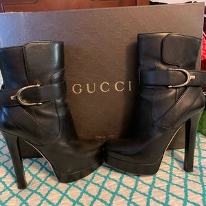 Authentic Gucci Ankle Boots
